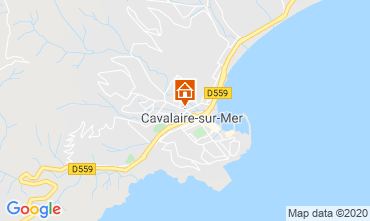 Map Cavalaire-sur-Mer Apartment 80263