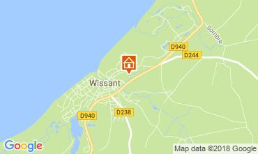 Map Wissant Villa 113746