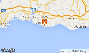 Map Carvoeiro Apartment 17665