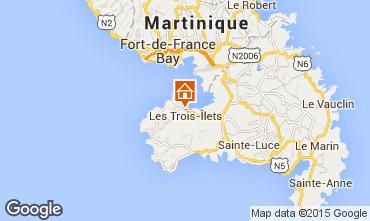 Map Trois Ilets Apartment 63028