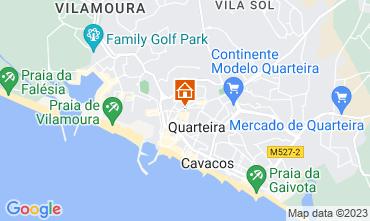 Map Quarteira Apartment 100571