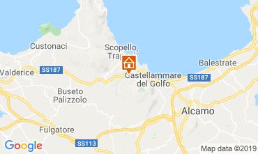 Map Castellammare del Golfo Apartment 103986