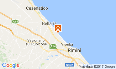 Map Bellaria Igea Marina B&B 109717