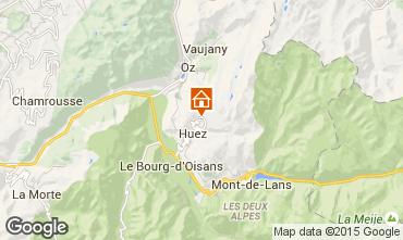 Map Alpe d'Huez Studio apartment 46