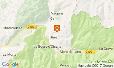 Map Alpe d'Huez Apartment 111903