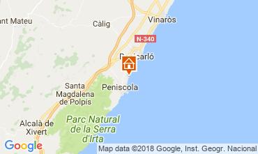 Map Peñíscola Apartment 32523