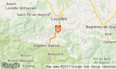 Map Argeles Gazost Self-catering property 4041