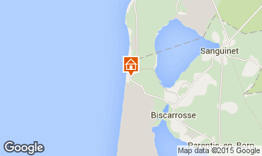 Map Biscarrosse Apartment 80894