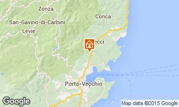 Map Porto Vecchio Villa 92380