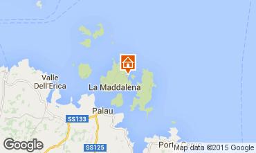 Map La Maddalena Studio apartment 60826