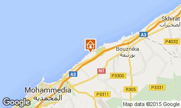 Map Mohammedia Villa 73250