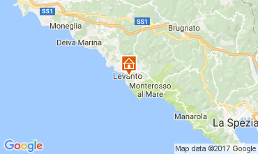 Map Levanto Apartment 108814