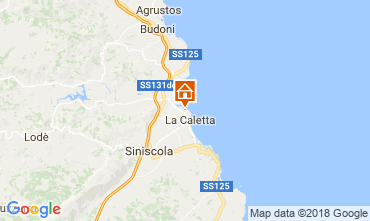 Map Posada Apartment 69388