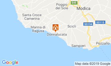 Map Marina di Ragusa Apartment 113933