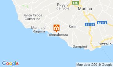 Map Donnalucata Apartment 113933