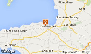 Map Douarnenez Studio apartment 93136
