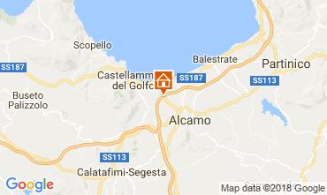 Map Castellammare del Golfo Villa 111636