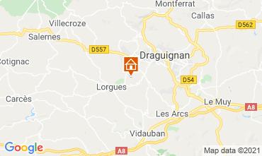 Map Draguignan Windmill 86770