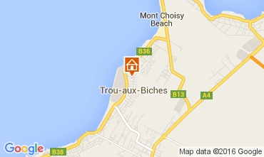 Map Trou-aux-biches Apartment 82122