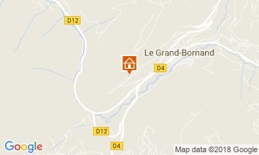 Map Le Grand Bornand Apartment 52301