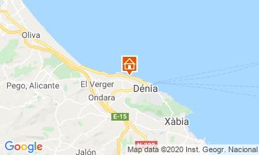 Map Denia Bungalow 9706