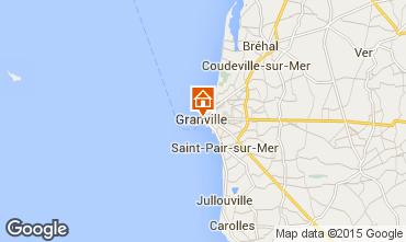Map Granville Studio apartment 72317