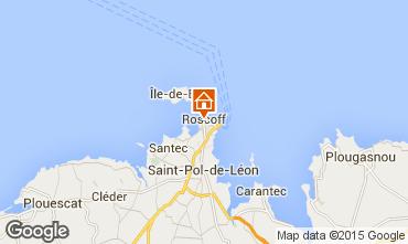 Map Roscoff Studio apartment 78518