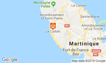Map Le Carbet (Martinique) Apartment 119559