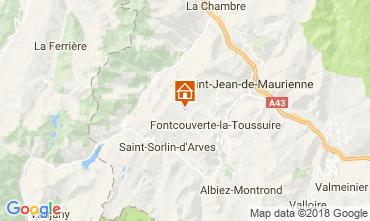 Map La Toussuire Chalet 52378