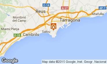 Map Salou Villa 77795
