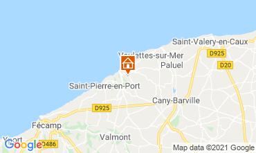 Map Etretat Chalet 86314