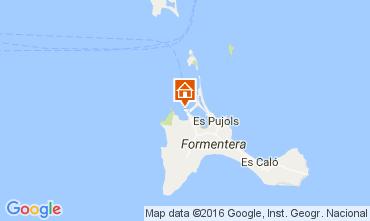 Map Formentera Apartment 106437