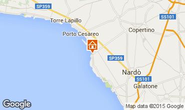 Map Porto Cesareo Apartment 88464
