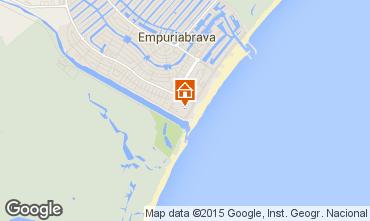 Map Empuriabrava Apartment 60216