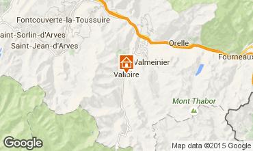 Map Valloire Apartment 3391