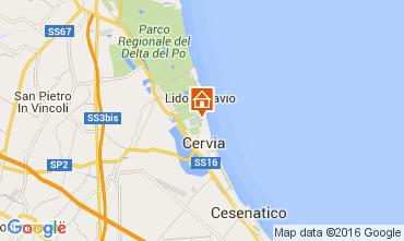 Map Milano Marittima Apartment 105773