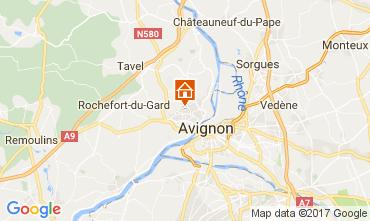 Map Avignon House 107306