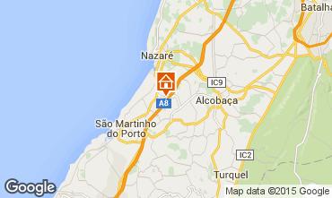 Map Nazaré Self-catering property 93017