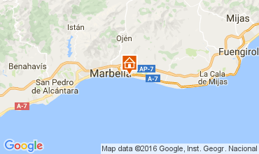 Map Marbella Apartment 100764