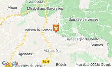 Map Vaison la Romaine Villa 111380