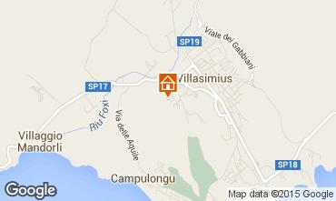 Map Villasimius Apartment 60425