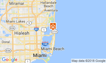 Map Miami Beach Villa 115572
