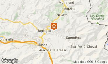 Map Samoëns Apartment 73538