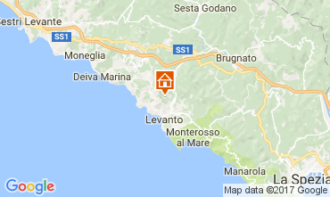 Map Levanto Apartment 111038