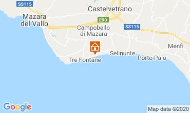 Map Tre Fontane Villa 92036