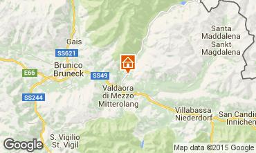 Map Kronplatz  - Plan de Corones Apartment 26535