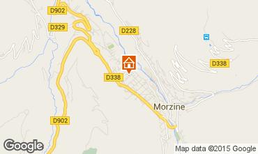 Map Morzine Flat 68978