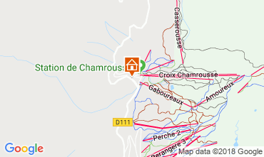 Map Chamrousse Apartment 116984
