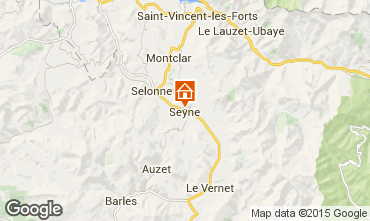 Map Seyne les Alpes House 568