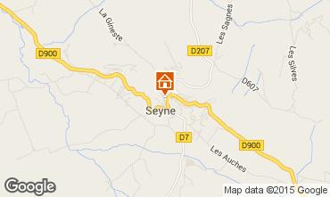 Map Seyne les Alpes House 568